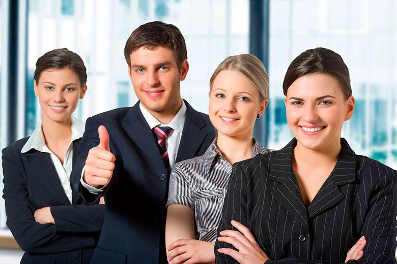Сотрудники рекламного агентства